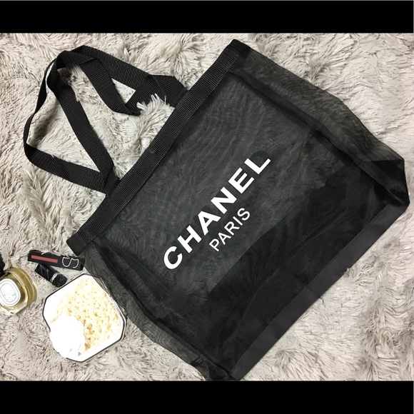 5330151f938866 CHANEL Bags | Authentic Mesh Tote Vip Gwp | Poshmark